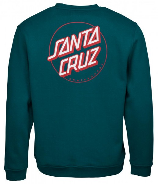 Santa Cruz Other Dot Ink Blue Sweatshirt für Herren
