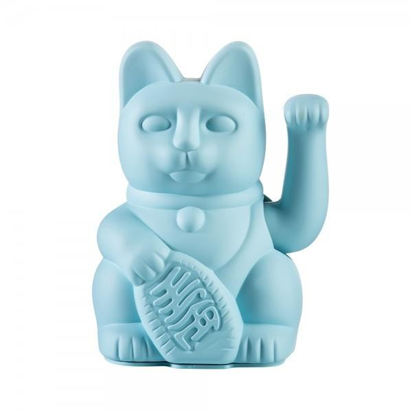 Winkekatze The Lucky Blue Cat