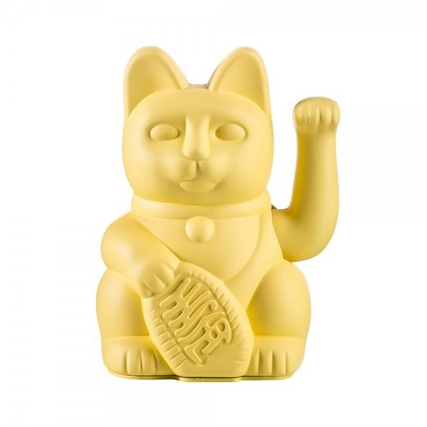Winkekatze The Lucky Yellow Cat