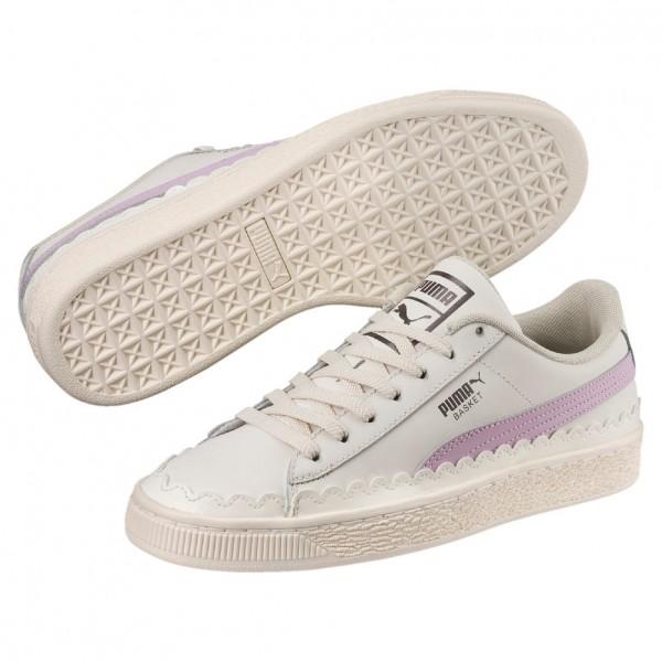 Puma Schuhe Basket Scallop Wn's