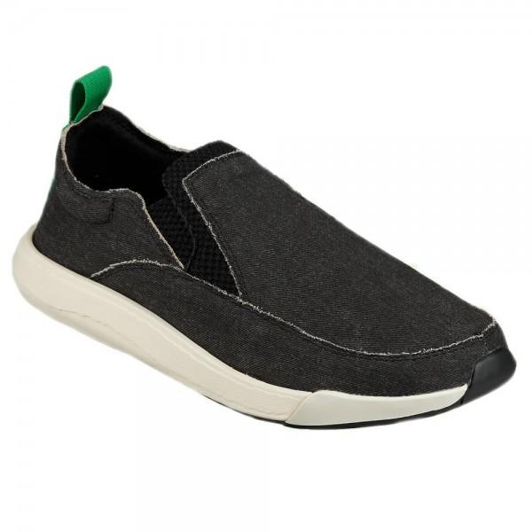Sanuk Shoe Chiba Quest Black