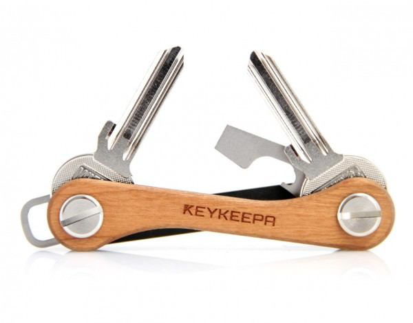 Keykeepa Schlüsselbund Edelholz