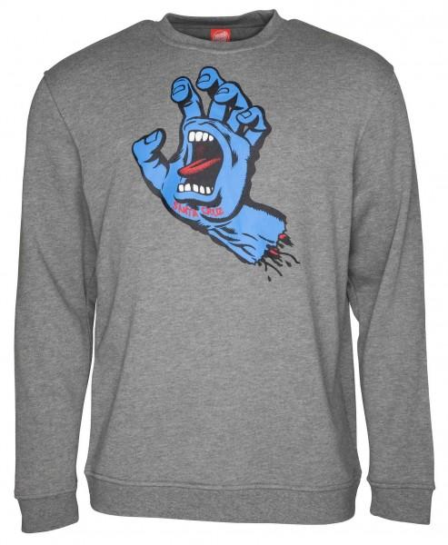 Santa Cruz Screaming Hand Dark Heather Sweatshirt für Herren