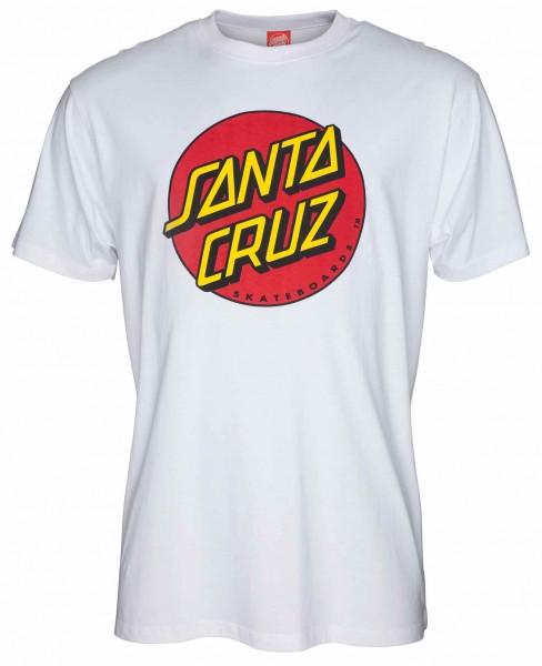 Santa Cruz Classic Dot white T-Shirt für Herren