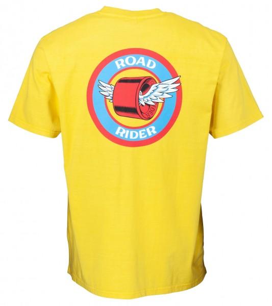 Santa Cruz Road Rider Yellow T-Shirt für Herren