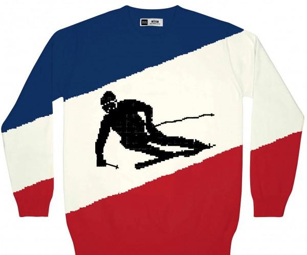 Dedicated Mora Skier Strick-Sweatshirt für Herren