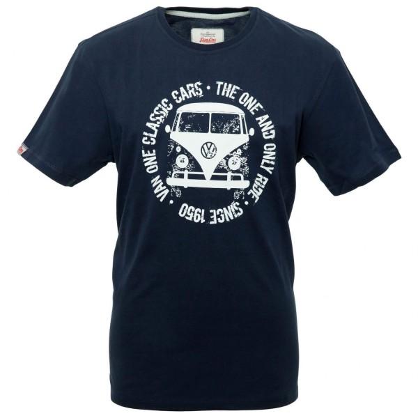 Van One Bulli Face Used T-Shirt für Herren