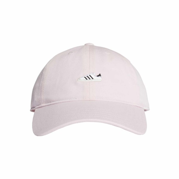 adidas Super SST Cap in clear pink