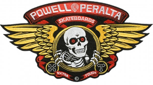 Powell Peralta Winged Ripper Large Patch Aufnäher