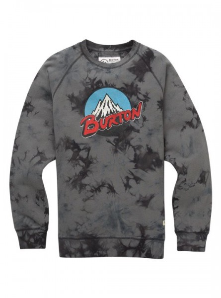 Burton Retro Mountain Sweatshirt aus Biobaumwolle