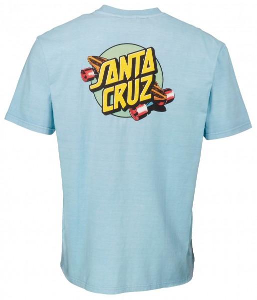 Santa Cruz Summer of 76 Blue T-Shirt für Herren