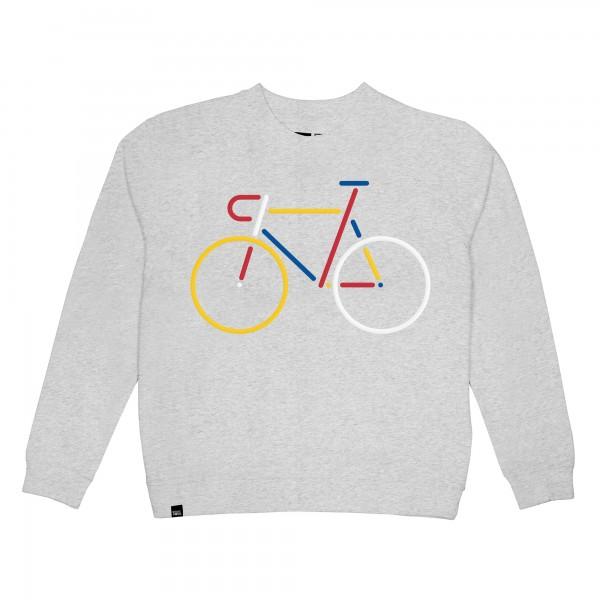 DEDICATED Sweatshirt Ystad Color Bike für Damen