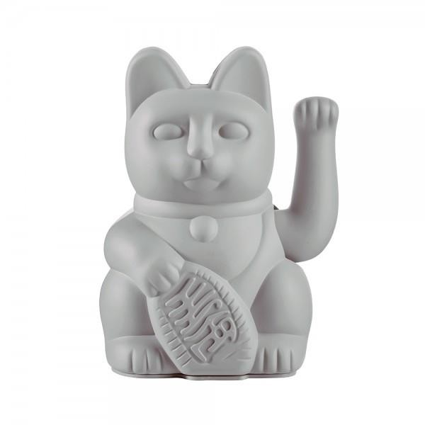 Winkekatze The Lucky Grey Cat