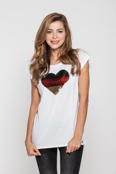 T-Shirt Cotton Candy Goal Heart