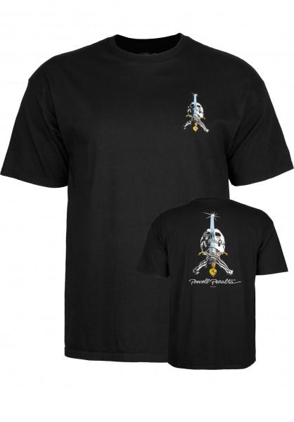Powell Peralta Skull and Sword T-Shirt für Herren