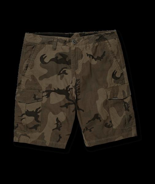 Volcom Miter II Cargo Shorts für Herren Camoflage