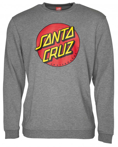 Santa Cruz Classic Dot Dark Heather Sweatshirt für Herren