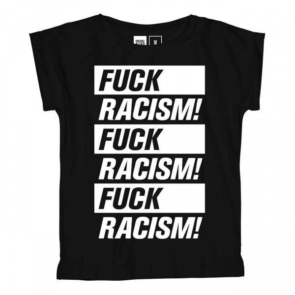 DEDICATED Visby Fuck Racism T-Shirt