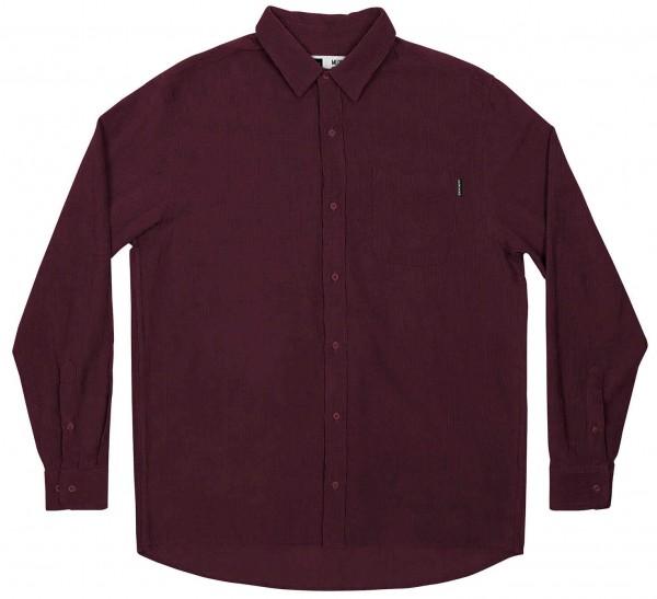 Dedicated Varberg Corduroy Langarm-Shirt für Herren