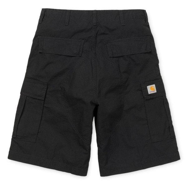 Carhartt WIP Cargo Short Black Rinsed