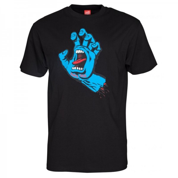 Santa Cruz Screaming Hand black T-Shirt für Herren