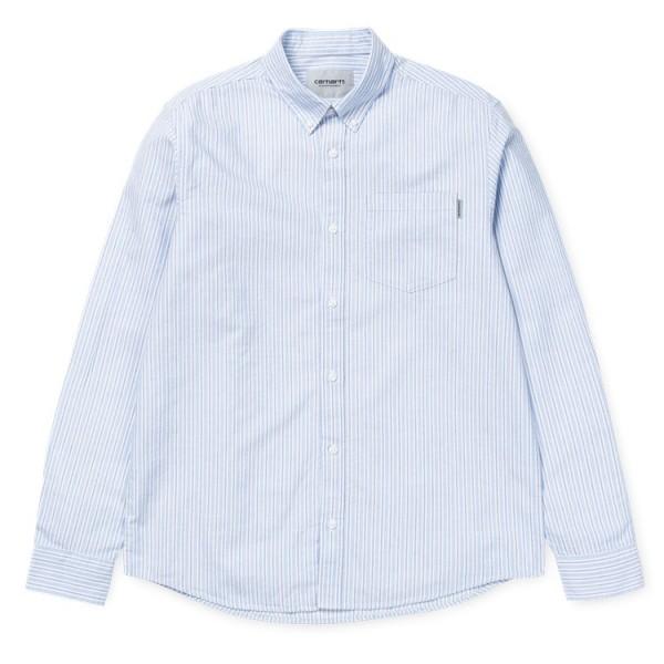 Carhartt WIP Hemd L/S Shaft Stripe Shirt