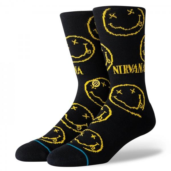 Stance Lifestyle Nirvana Face Socken für Herren Gr. L