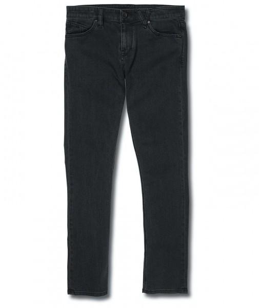 Volcom Jeans 2x4 Denim Ink Black für Herren