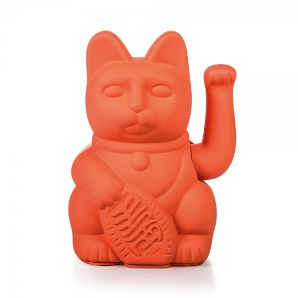 Winkekatze The Lucky Neon Pink Cat