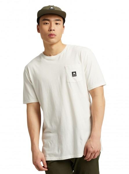 Burton Colfax T-Shirt in Stout White für Herren