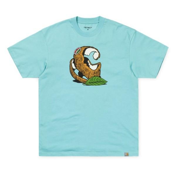 Carhartt WIP Herren Orange C T-Shirt