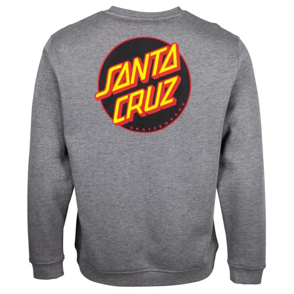 Santa Cruz Other Dot Dark Heather Sweatshirt für Herren