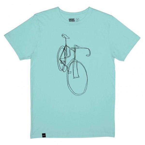 DEDICATED T-Shirt Stockholm One Line Bike