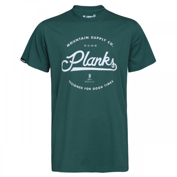 Planks Clothing Mountain Supply Co Tee