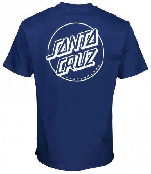 Santa Cruz Opus Dot Dark Navy T-Shirt für Herren