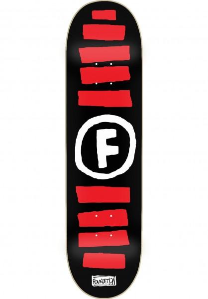 Skateboard Deck Foundation Doodle Stripe 8 Inch